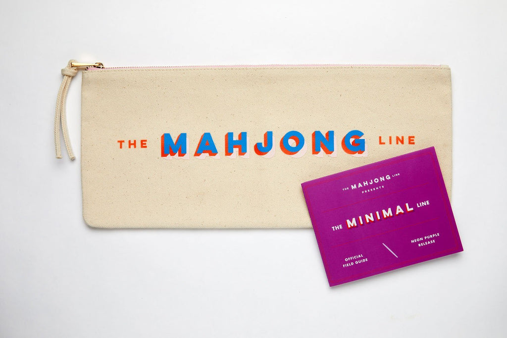 mahjong pouch for storing tiles