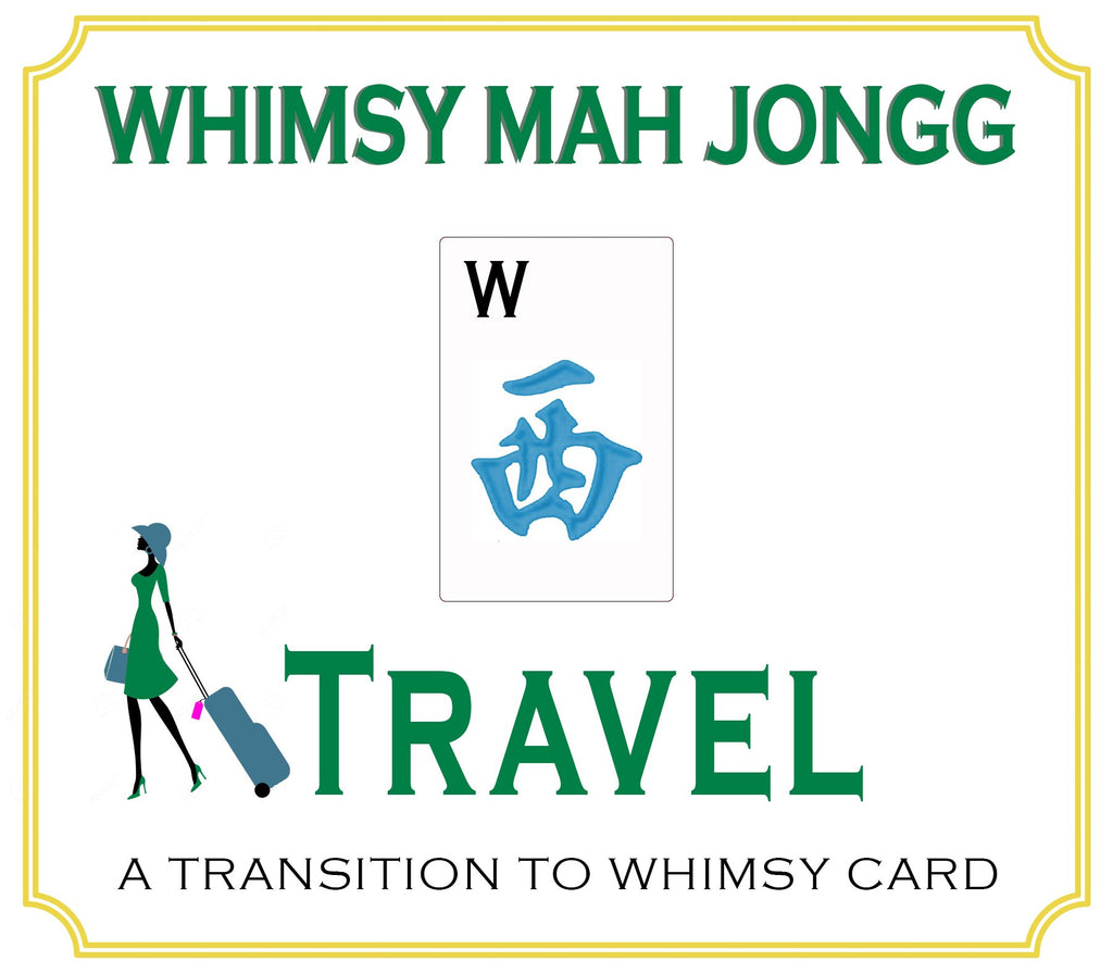Whimsy Mahjong Travel Card