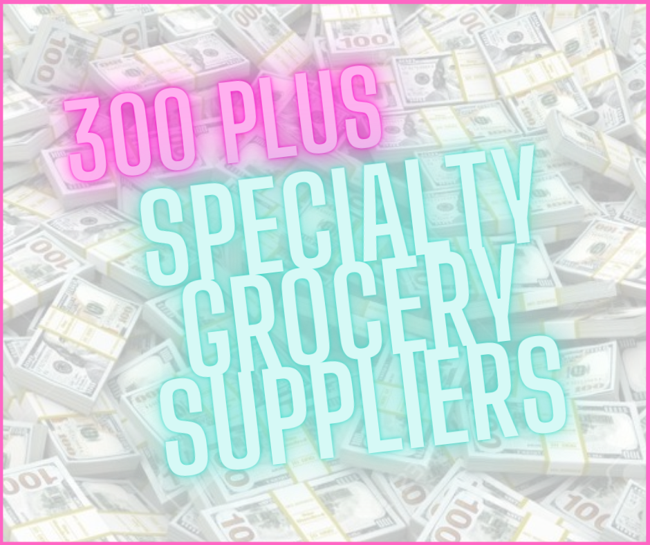 300 Plus Specialty Grocery Suppliers