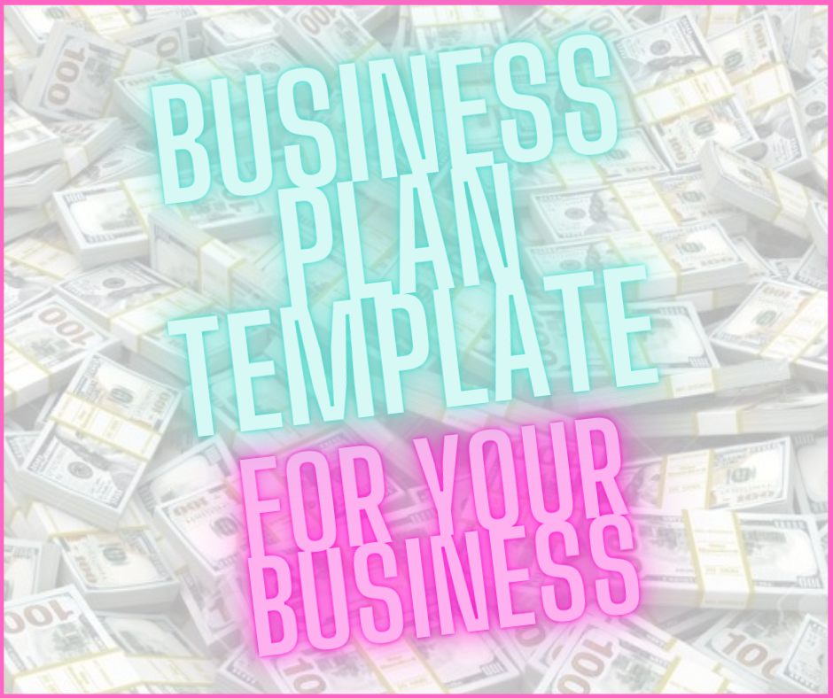 Business Plan Template For Your Business