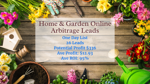 Home & Garden 26 Online Arbitrage Leads! $336 Profit only $24! 4/16/21 Today's Online Arbitrage Leads | Individual List  | Ecommerce Empowerment | Amazon Selling
