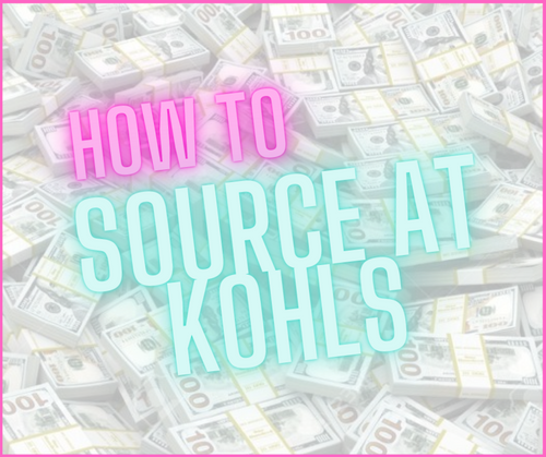 How To Source At Kohls