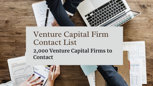 Venture Capital Firm Contact List | Ecommerce Empowerment | Entrepreneur