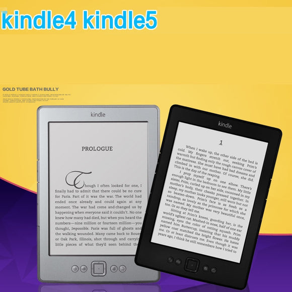 Cheap Kindle 4 / 5 e-book with gift e-ink Display 6 inch Ebook Reader Electronic e book Ereader 2GB Refurbished Great Condition