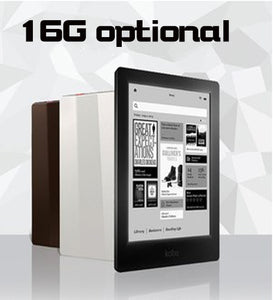 100% NEW!eBook eReader Kobo Aura HD 6.8 inch 1440x1080 WIFI Touch screen e Book Reader e-ink Front Light e-books Reader