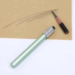 1pcs Metal Single Head Spiral Pencil Extender Art Sketch Crayon Extender Art Student Painting Tools School Stationery
