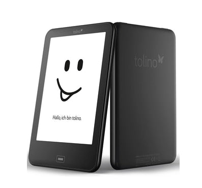 Tolino Vision 2 e reader e-ink 6 inch 1024x758 touchscreen ebook Reader WiFi Tap2 cover for page turning! Daily waterproof