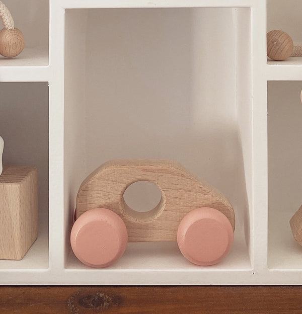 Miva Vacov Wooden Push Along Toy Car - Millie