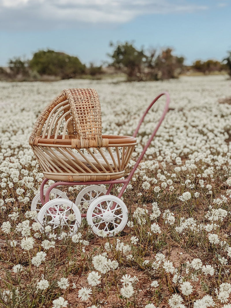 My Darling Valentine Gigi Pram - Mulberry Rose