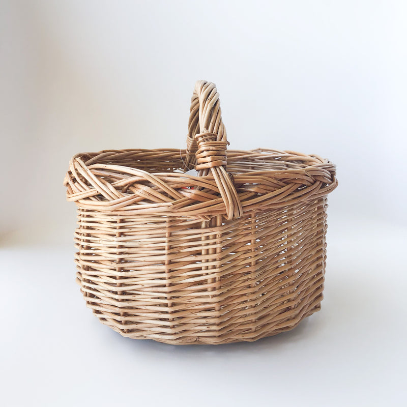 Handwoven Wicker Basket