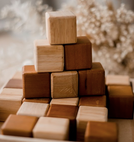 Handcrafted Natural Block Set
