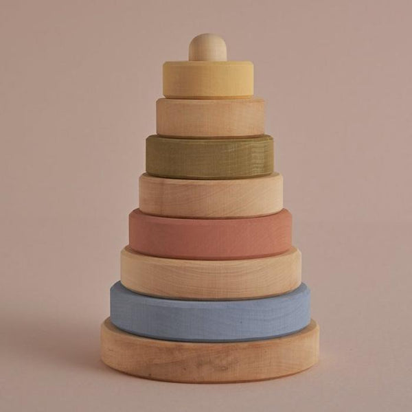 Raduga Grez Pastel And Natural Stacking Tower
