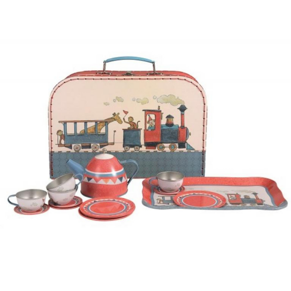 Egmont Tin Tea Set Train