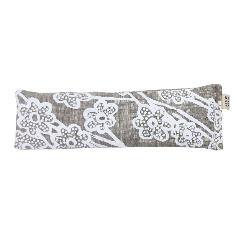 Eye Pillow - Wildflower White/Natural