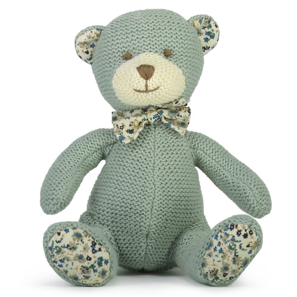 Barney Knitted Bear