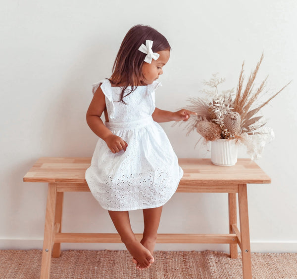 Elsie May Lottie Dress - Milk