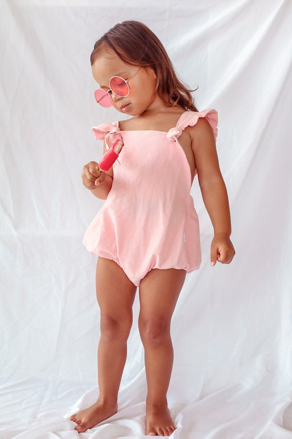 Elsie May Stormey Romper - Watermelon