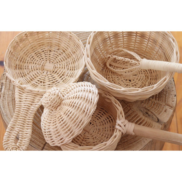 Juni Moon Rattan Cooking Set