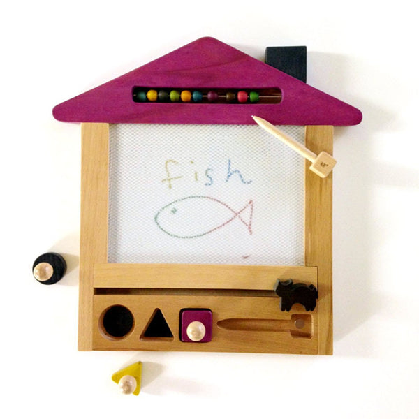 KIKO + & GG OEKAKI HOUSE (CAT) - MAGICAL DRAWING BOARD