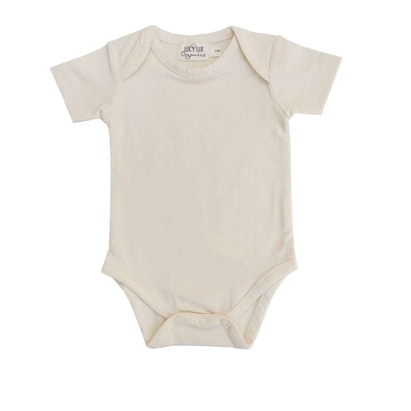 Organic Everyday Short Sleeve Bodysuit Shell