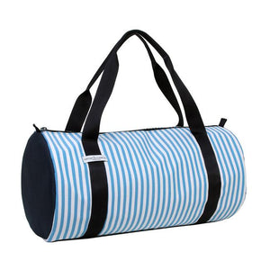 Borsa - blu / 2 fantasie righe - naticonlacamicia