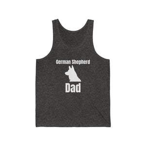 German Shepherd Dad Jersey Tank