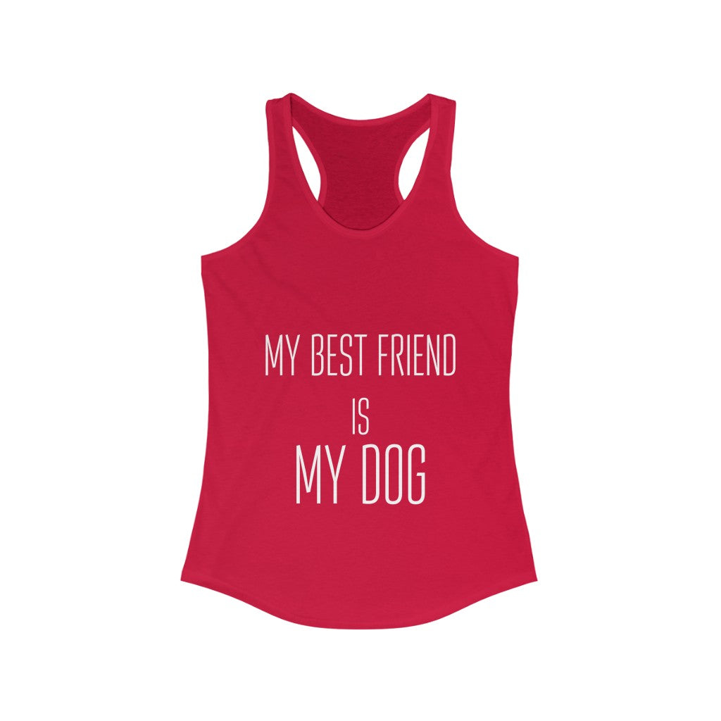 My Best Friend Women's Tank