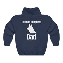 Load image into Gallery viewer, German Shepherd Dad Hoodie