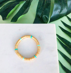 Luxe Gold Caribbean Stacker