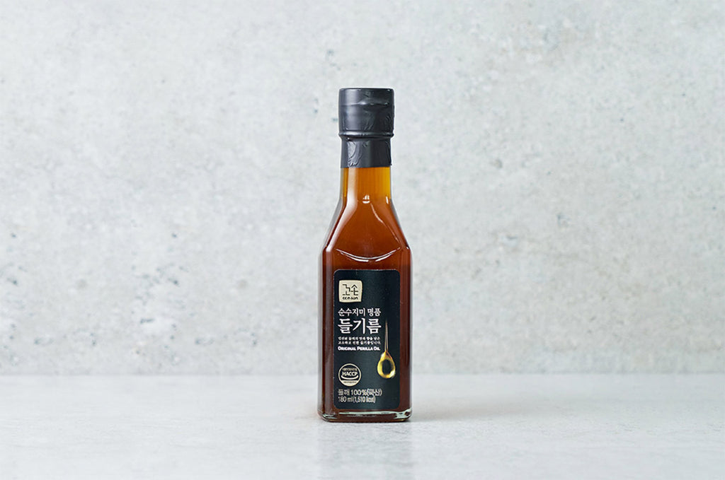 [Ccoson] Korean-Grown 100% Toasted Perilla Oil (180ml)
