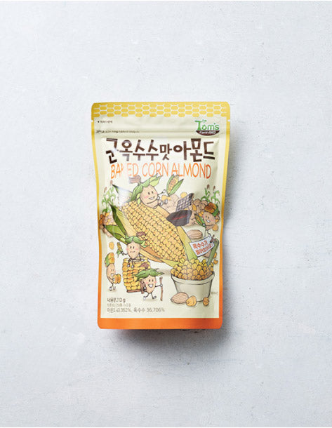 [Toms] Korean Style Almonds (9 Flavors)