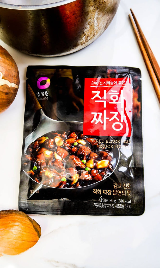 [Chung Jung One] Fire-Roasted Jajangmyeon Powder (3-Packets)
