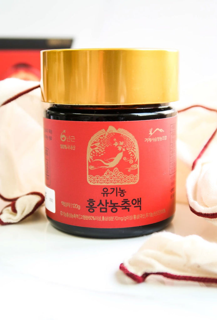 [Geoje Island Farm] Organic 6-Year-Old Red Ginseng Extract
