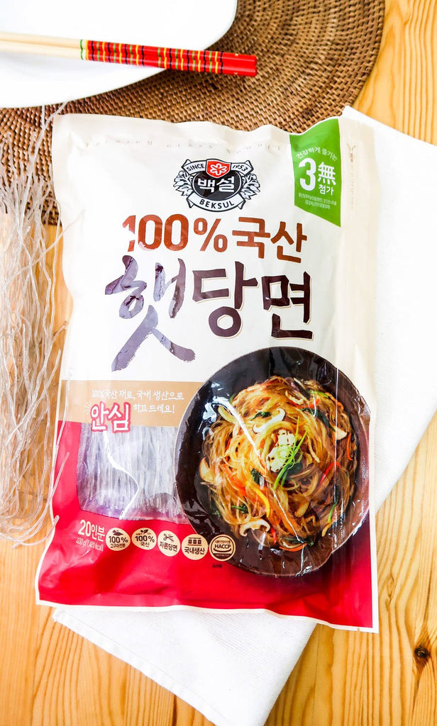 [Beksul] 100% Korean Dangmyeon Noodles (Japchae)