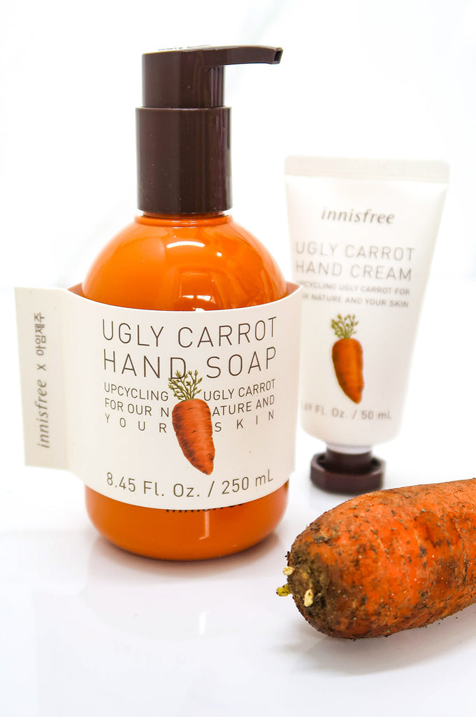 [Innisfree] Ugly Carrot Hand Soap & Cream Set