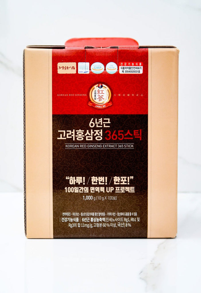[Jung Won Sam] Korean Red Ginseng Mega Box (100 Packets)