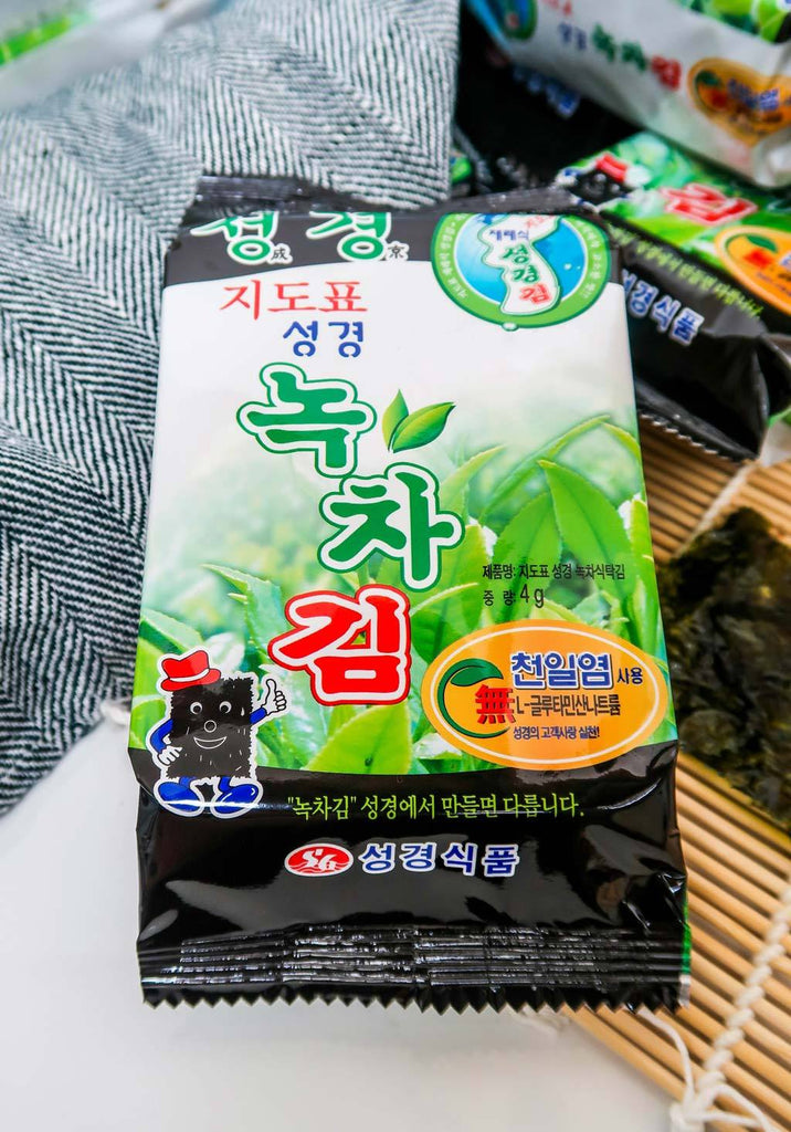 [Sung Gyung Food] Green Tea Laver (14 pack)