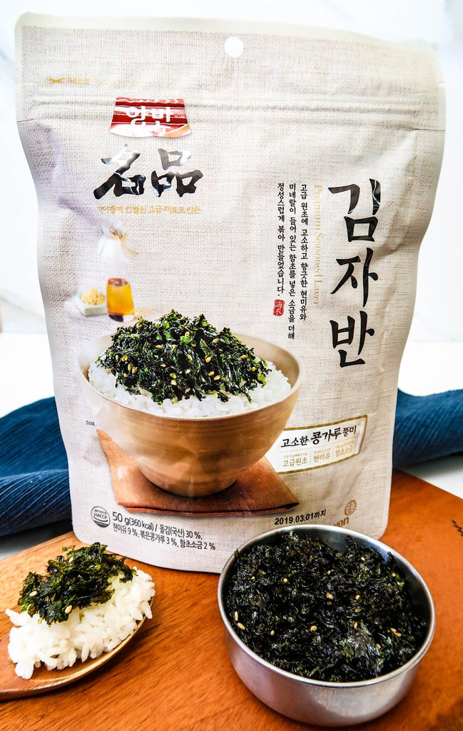 [Yangban] Seasoned Seaweed Flakes (Kimjaban)