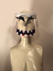 Printed Face Shield: Monster Face