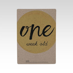Milestone Cards by RhiCreative - One Little Sprout