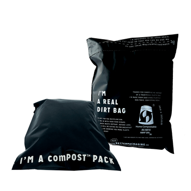 ComPOST compostable satchels by Better Packaging Co - One Little Sprout
