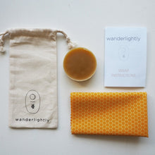 Load image into Gallery viewer, Kids DIY Beeswax Wrap Kit by Wanderlightly - One Little Sprout