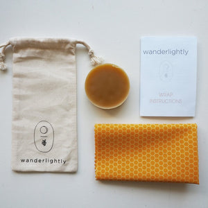 Kids DIY Beeswax Wrap Kit by Wanderlightly - One Little Sprout