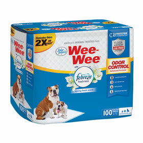 Wee-Wee Odor Control with Febreze Freshness Pads 100 count