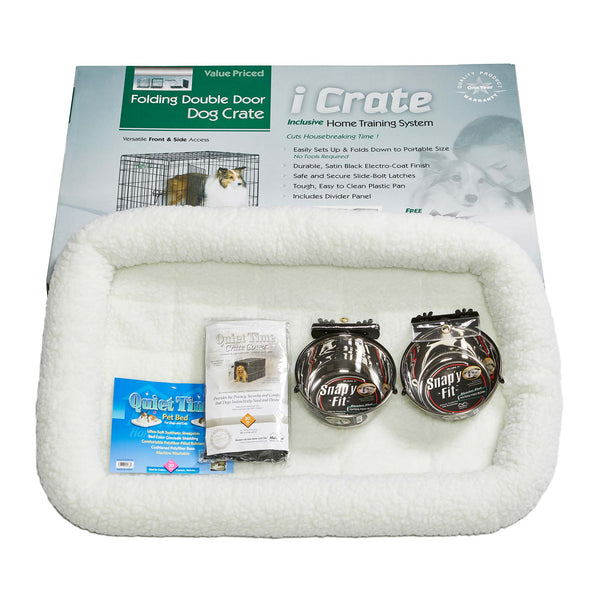 iCrate Dog Crate Kit