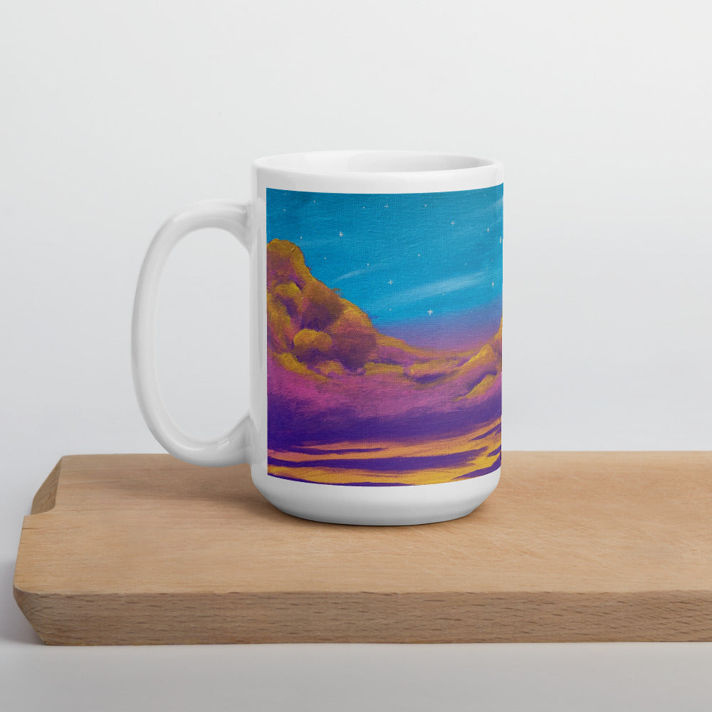 Floating in the Air Mug