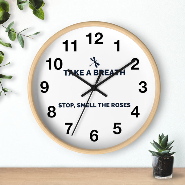 Boost Breathing Wall clock