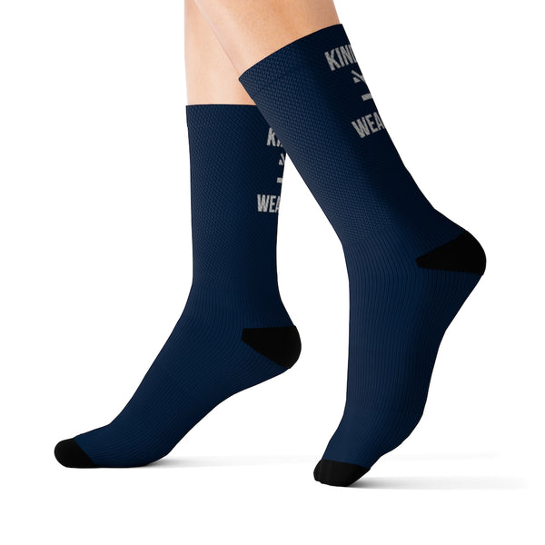 Kindness Isn't Weakness Sublimation Socks