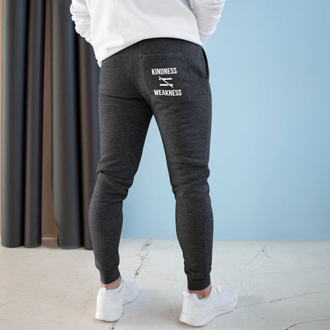 Kindness Isn't Weakness Premium Fleece Joggers