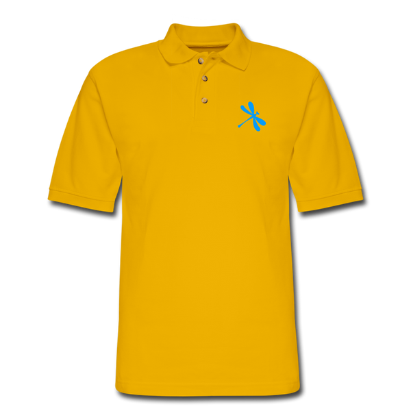 Boosted Men's Pique Polo Shirt - Yellow